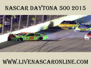 watch live Nascar Daytona 500 2015 live on mac