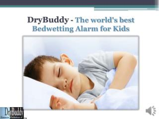 DryBuddy - The World's Best Bed Wetting Alarm for Kids