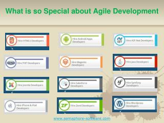What is so Special about Agile Development?