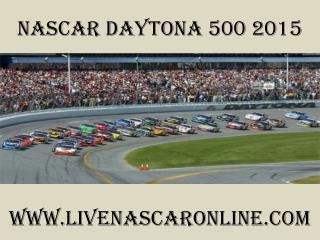 watch live nascar Daytona 500 2015 live streaming