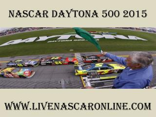 watch nascar Daytona 500 2015 live online