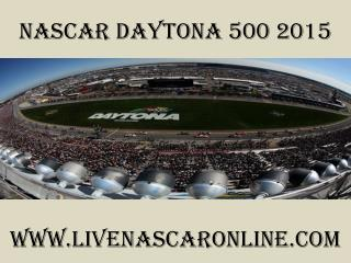 watch nascar Daytona 500 race live streaming