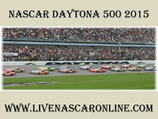 watch Nascar Daytona 500 race online