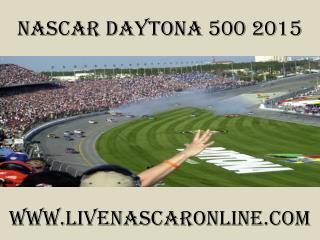 watch Nascar Daytona 500 race live online
