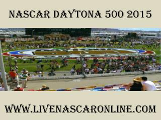 watch Nascar Daytona 500 race live