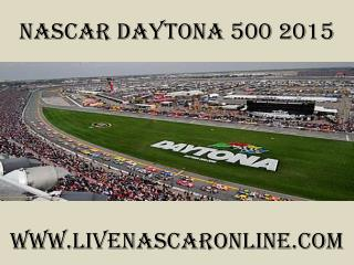 watch live Nascar Daytona 500 2015 live streaming