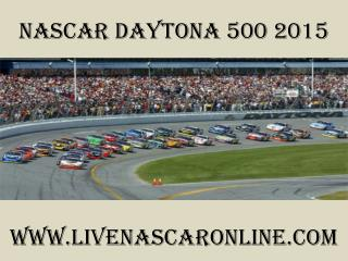 streaming Nascar Daytona 500 races online