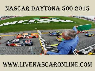 streaming Nascar Daytona 500 race live online