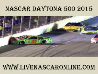 Nascar Daytona 500 streaming video online