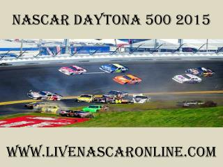 Nascar Daytona 500 streaming radio online