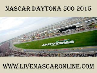 watch Nascar Daytona 500 live streaming