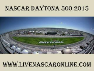watch Nascar Daytona 500 racers stream online