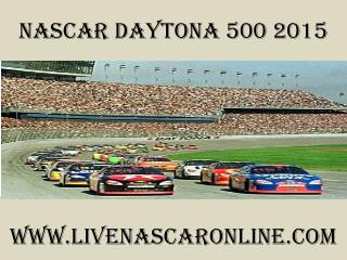 watch nascar live Daytona 500 online