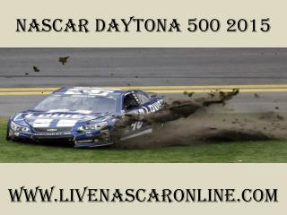 watch live Nascar Daytona 500 online