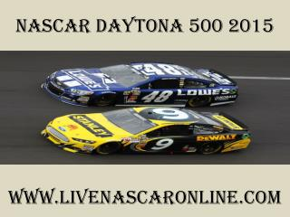 watch live Nascar Daytona 500 streaming online