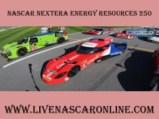 watch nascar NextEra Energy Resources 250 live coverage