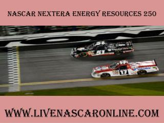 watch live Nascar 2015 NextEra Energy Resources 250 live on