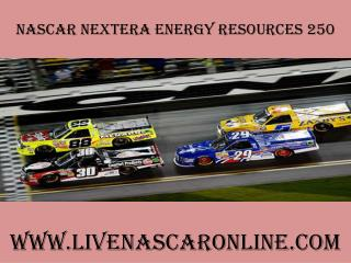 watch nascar 2015 NextEra Energy Resources 250 live online