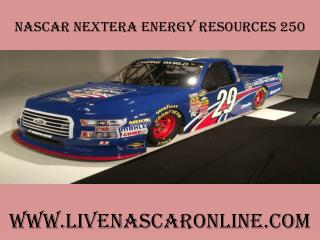 watch nascar 2015 NextEra Energy Resources 250 race live on