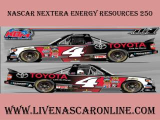watch nascar NextEra Energy Resources 250 live online