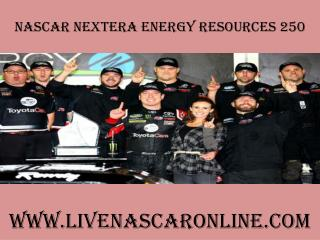 watch NextEra Energy Resources 250 nascar race live on smart