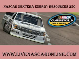 watch nascar NextEra Energy Resources 250 live streaming