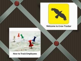 Crow Tracker Presentation