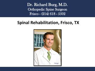 Spinal Rehabilitation, Frisco, TX