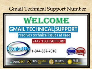 Contact 1-844-332-7016 for Gmail Technical Support USA