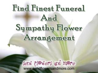 Sympathy Flower Delivery Online