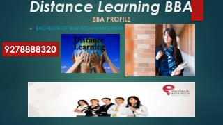 || BBA  Admission 2015-16 Correspondence Courses in india|||