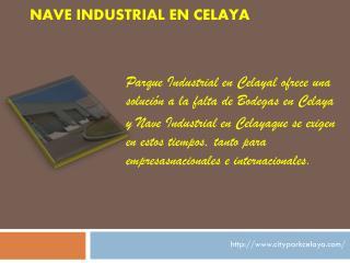 Nave Industrial en Celaya
