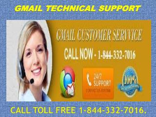 Gmail Customer Support 1-844-332-7016 Contact Number