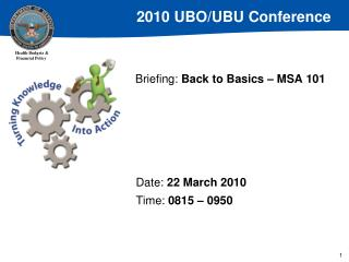 Briefing: Back to Basics   MSA 101