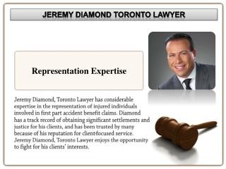 Jeremy Diamond of Toronto: Personal Injury Services