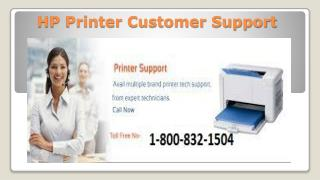 HP Printer Customer Support To Install Drivers