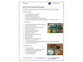 PIC Development Board