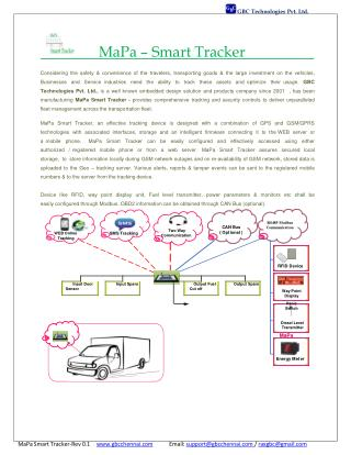 Smart Vehicle Tracking System