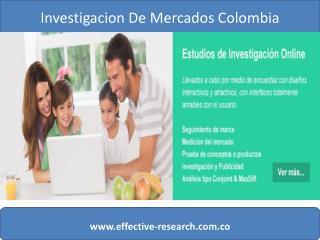 Empresas de estudios de mercado en Colombia