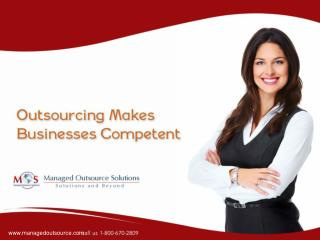 Outsourcing Makes Business Competent