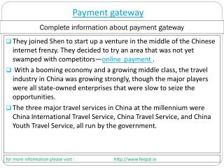 Understanding the purpose of a business  payment gateway