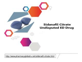 Buy Sildenafil Citrate online at cheap price