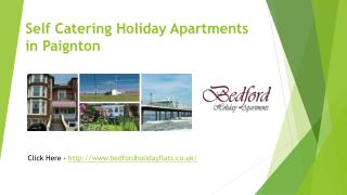 Self Catering Holiday Apartments In Paington