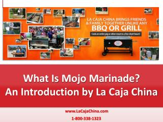 What Is Mojo Marinade | La Caja China BBQ Grills