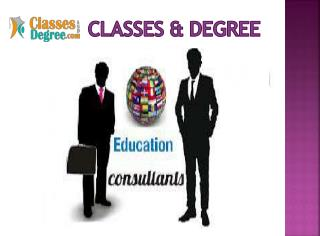 Education Consultant in USA