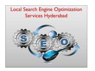 Local Search Engine Optimization Services Hyderabad
