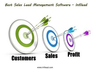 Best Sales Lead Management Software - Infilead