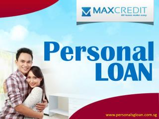 Small Personal Loans Singapore