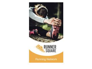 Runner Square - An apps for Live GPS tracking & running
