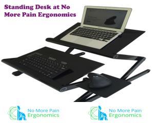 Standing Desk at No More Pain Ergonomics
